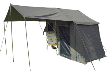 Junior Safari Trailer Tent & Awning