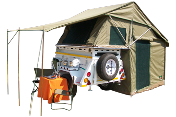 Senior Safari Trailer Tent